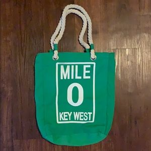 "Key West ""0 Mile"" Bucket Bag"